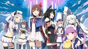 Rating: Safe Score: 91 Tags: animal_ears aqua_eyes azur_lane black_hair blue_eyes brown_hair cape clouds cosplay crossover demon foxgirl gochou_(atemonai_heya) gray_hair green_eyes hat hololive horns long_hair manjuu_(azur_lane) minato_aqua murasaki_shion nakiri_ayame natsuiro_matsuri navel no_bra ookami_mio pink_hair ponytail purple_eyes red_eyes shirakami_fubuki sky tail thighhighs tokino_sora twintails white_hair wolfgirl yellow_eyes User: Nepcoheart
