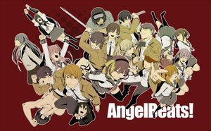 Rating: Safe Score: 38 Tags: angel_beats! chaa fujimaki glasses hinata_hideki hisako irie_miyuki iwasawa_masami katana long_hair matsushita nakamura_yuri naoi_ayato noda ooyama otonashi_yuzuru school_uniform sekine_shiori shiina skirt sword tachibana_kanade tail takamatsu takeyama tk weapon yui_(angel_beats!) yusa User: HawthorneKitty