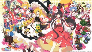 Rating: Safe Score: 52 Tags: alice_margatroid chibi flandre_scarlet group hakurei_reimu hourai ideolo kazami_yuuka kirisame_marisa logo luna_child remilia_scarlet shanghai_doll star_sapphire sunny_milk touhou watermark User: Dreista