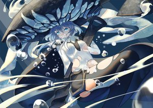 Rating: Safe Score: 104 Tags: anthropomorphism bubbles headdress jpeg_artifacts kantai_collection pantyhose torn_clothes underwater water wo-class_aircraft_carrier zicai_tang User: Flandre93