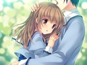 Rating: Safe Score: 39 Tags: asahina_mai game_cg hug sakura_no_reply User: Maboroshi