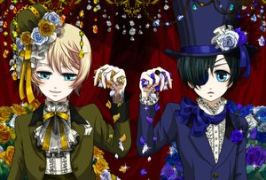 Rating: Safe Score: 22 Tags: alois_trancy ciel_phantomhive kuroshitsuji User: HawthorneKitty