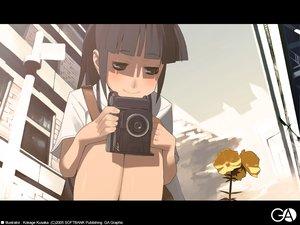 Rating: Safe Score: 3 Tags: camera gagraphic kusaka_kokage logo watermark User: Oyashiro-sama