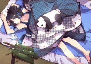Rating: Safe Score: 224 Tags: animal bear bed black_hair pajamas panda pandako sleeping tagme User: opai