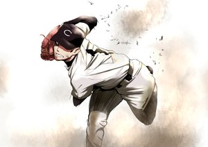 Rating: Safe Score: 33 Tags: all_male baseball gloves hat male mizumori_omizu original sport uniform User: reyaes