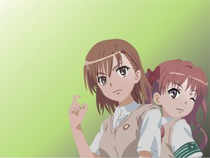 Rating: Safe Score: 8 Tags: 2girls bow brown_eyes brown_hair long_hair misaka_mikoto school_uniform shirai_kuroko short_hair to_aru_kagaku_no_railgun to_aru_majutsu_no_index twintails User: frankz0228