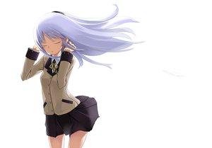 Rating: Safe Score: 31 Tags: angel_beats! bow gray_hair long_hair skirt tachibana_kanade white User: HawthorneKitty