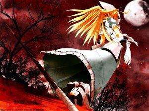Rating: Safe Score: 15 Tags: blonde_hair dress moon tagme tree User: Oyashiro-sama