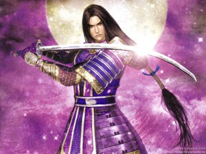 Rating: Safe Score: 10 Tags: all_male armor long_hair male mitsuhide_akechi signed sword tagme weapon User: w7382001