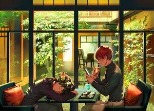 Rating: Safe Score: 11 Tags: all_male boku_no_hero_academia male midoriya_izuku tagme_(artist) todoroki_shouto User: Lily89402