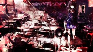 Rating: Safe Score: 158 Tags: another black_hair eyepatch misaki_mei school_uniform short_hair tagme_(artist) User: C4R10Z123GT