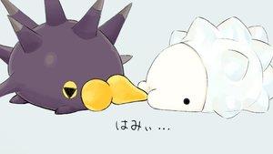 Rating: Safe Score: 6 Tags: pincurchin pokemon siratamairipafe snom User: otaku_emmy