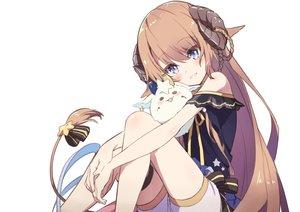 Rating: Safe Score: 43 Tags: animal_ears blue_eyes brown_hair horns long_hair nanase_subaru_channel nanase_subaru_(vtuber) shorts tail tama_(tama-s) white User: otaku_emmy