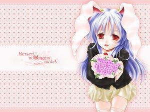 Rating: Safe Score: 10 Tags: animal_ears bunnygirl flowers reisen_udongein_inaba touhou User: Oyashiro-sama