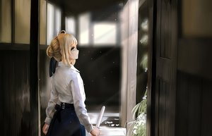 Rating: Safe Score: 126 Tags: artoria_pendragon_(all) blonde_hair fate_(series) fate/stay_night green_eyes magicians saber User: sumanta