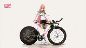 Rating: Safe Score: 39 Tags: bicycle bike_shorts cz2128_delta eyepatch overlord pink_hair shorts tamagona yellow_eyes User: gnarf1975