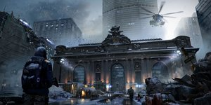 Rating: Safe Score: 208 Tags: aircraft building gun hoodie military rounin_(amuza) ruins scenic snow tom_clancy's_the_division weapon User: Flandre93