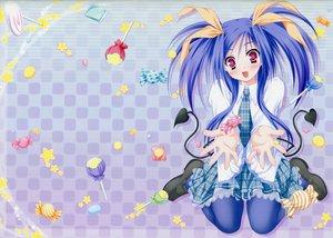 Rating: Safe Score: 28 Tags: candy kawai_ameri lollipop moekibara_fumitake tayutama User: van