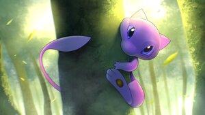 Rating: Safe Score: 20 Tags: close forest higa-tsubasa leaves mew pokemon tree User: otaku_emmy