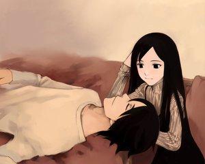 Rating: Safe Score: 56 Tags: black_eyes black_hair blood_alone long_hair sleeping takano_masayuki User: Oyashiro-sama