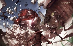 Rating: Safe Score: 30 Tags: armor mabinogi mabinogi_heroes weapon User: Tiki