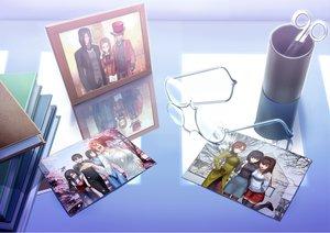 Rating: Safe Score: 30 Tags: aozaki_aoko aozaki_touko araya_souren book cornelius_alba glasses hat kara_no_kyoukai kokutou_azaka kokutou_mikiya kuonji_alice mahou_tsukai_no_yoru ponytail ryougi_shiki skirt thighhighs tsukikanade zettai_ryouiki User: RyuZU