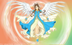 Rating: Safe Score: 29 Tags: aa_megami-sama belldandy wings User: gnarf1975