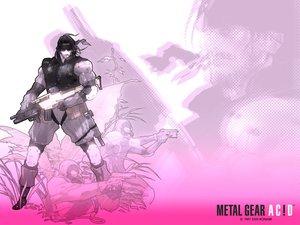 Rating: Safe Score: 27 Tags: all_male armor black_hair gun headband male mask metal_gear short_hair solid_snake weapon zoom_layer User: Oyashiro-sama