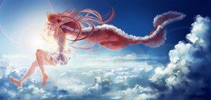 Rating: Safe Score: 76 Tags: clouds crown gunni original sky User: FormX