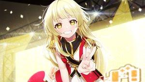 Rating: Safe Score: 3 Tags: bang_dream! blonde_hair long_hair the_cold tsurumaki_kokoro yellow_eyes User: sadodere-chan