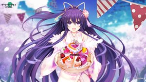 Rating: Safe Score: 52 Tags: cake date_a_live food japanese_clothes kimikimi long_hair purple_eyes purple_hair yatogami_tohka User: RyuZU