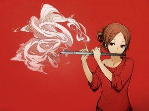 Rating: Safe Score: 85 Tags: flute instrument original red vl User: opai