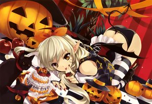 Rating: Safe Score: 143 Tags: girl's_avenue halloween misaki_kurehito scan User: mattiasc02