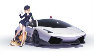 Rating: Safe Score: 206 Tags: animal artoria_pendragon_(all) car cosplay dog fate_(series) fate/stay_night gloves gradient hat maredoro police police_uniform saber skirt uniform white User: Flandre93