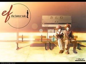 Rating: Safe Score: 10 Tags: asou_renji ef eyepatch minori school_uniform shindou_chihiro User: kowarenai