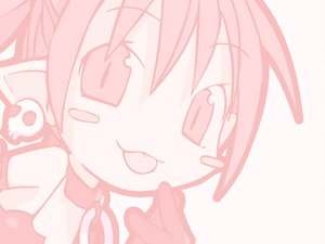Rating: Safe Score: 12 Tags: chibi demon disgaea etna loli monochrome pointed_ears User: Oyashiro-sama