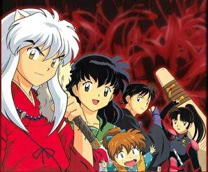 Rating: Safe Score: 18 Tags: higurashi_kagome inuyasha inuyasha_(character) miroku sango shippou User: Oyashiro-sama