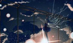 Rating: Safe Score: 85 Tags: aqua_hair clouds dress hatsune_miku hinata_(uzukitten) long_hair moon sky stars twintails vocaloid User: Flandre93
