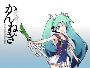 Rating: Safe Score: 26 Tags: cosplay hatsune_miku kannagi_crazy_shrine_maidens parody twintails vocaloid User: HawthorneKitty