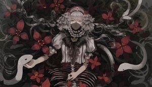 Rating: Safe Score: 93 Tags: animal flowers gothic headband lily_fairy mask pixiv_fantasia snake water User: Flandre93