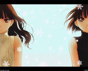 Rating: Safe Score: 5 Tags: dnangel harada_riku harada_risa sugisaki_yukiru twins User: Oyashiro-sama