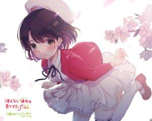 Rating: Safe Score: 48 Tags: cherry_blossoms dress flowers hat katou_megumi ricca saenai_heroine_no_sodatekata short_hair User: BattlequeenYume