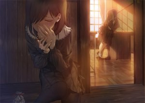 Rating: Safe Score: 93 Tags: asaba0327 brown_hair crying kiss original pantyhose seifuku short_hair shoujo_ai skirt valentine User: RyuZU
