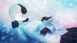 Rating: Safe Score: 40 Tags: between_shizuki braids earmuffs gloves sekka_yufu sleeping utau white_hair User: STORM
