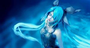 Rating: Safe Score: 46 Tags: aqua_hair blue deep-sea_girl_(vocaloid) hatsune_miku long_hair twintails underwater vocaloid water wsxmax User: humanpinka