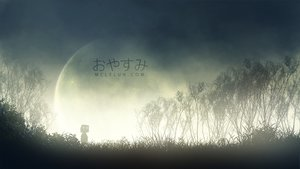 Rating: Safe Score: 30 Tags: dark grass mclelun moon original scenic silhouette sky tree watermark User: RyuZU