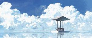 Rating: Safe Score: 91 Tags: animal asuteroid bird cape clouds iz_(asuteroid) original reflection scenic sky water User: FormX