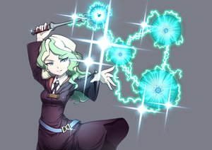 Rating: Safe Score: 35 Tags: diana_cavendish glock17c130 gray green_eyes green_hair little_witch_academia long_hair mage magic wand User: RyuZU