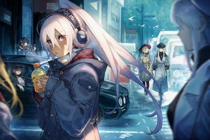 Rating: Safe Score: 84 Tags: animal anthropomorphism azur_lane bird bismarck_(azur_lane) black_hair blonde_hair brown_hair building car cleveland_(azur_lane) dark_skin drink enterprise_(azur_lane) group hat headphones hood_(azur_lane) jean_bart_(azur_lane) long_hair mephist-pheles minneapolis_(azur_lane) ning_hai_(azur_lane) paper ping_hai_(azur_lane) ponytail red_eyes sunglasses tagme_(character) twintails white_hair wink User: BattlequeenYume