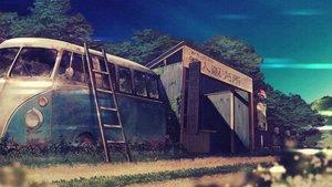 Rating: Safe Score: 31 Tags: building car fujiwara_mizuki nobody original scenic tree User: mattiasc02